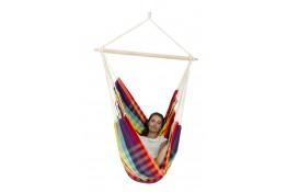 Hamac scaun Brasil rainbow